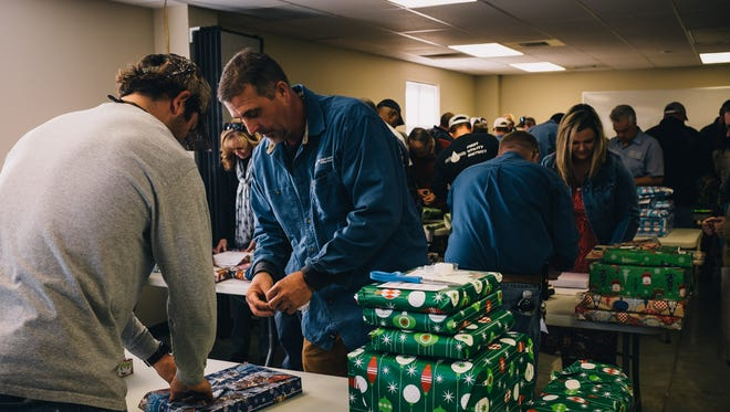 Christmas for the Kids is an annual event that FUD employees support financially to afford gifts to less fortunate children in the area