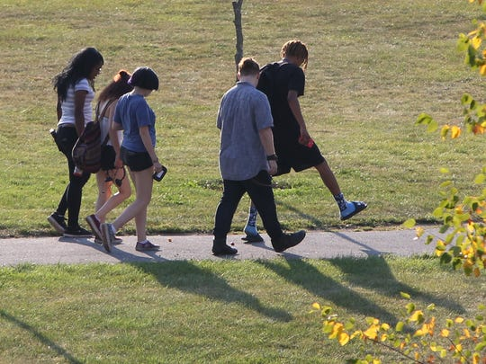 Students at Dutchess Community College in Poughkeepsie