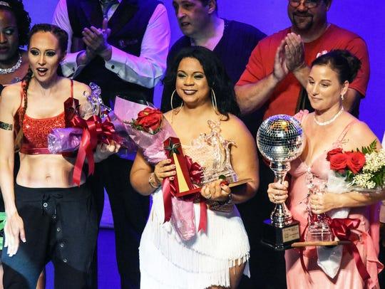 Michelle Leckenbusch, Top Fundraiser; Gusti Labatte-Deneau,