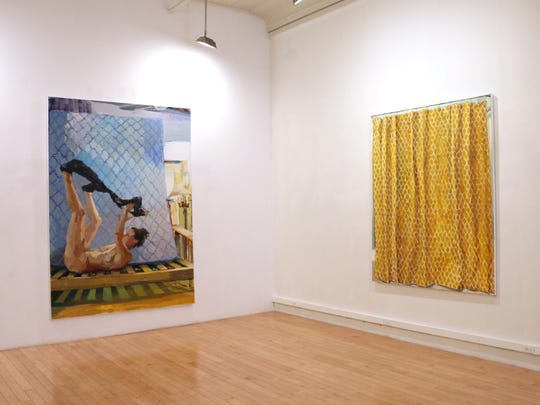 "Rachel Rickert's ""The Ins and Outs"" is now showing at E.TAY Gallery in Tribeca."