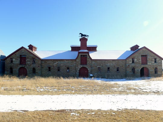 The J.C. Adams stone barn in Sun River was completed in 1885 and is registered with the National Resgister of Historic Places. Efforts are being made to raise funds so the building can be insured and host public events.