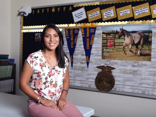 Taft High School senior Analis Victoria Lopez has been named a 2017 Caller-Times/Citgo South Texas Distinguished Scholar in the Achiever category.