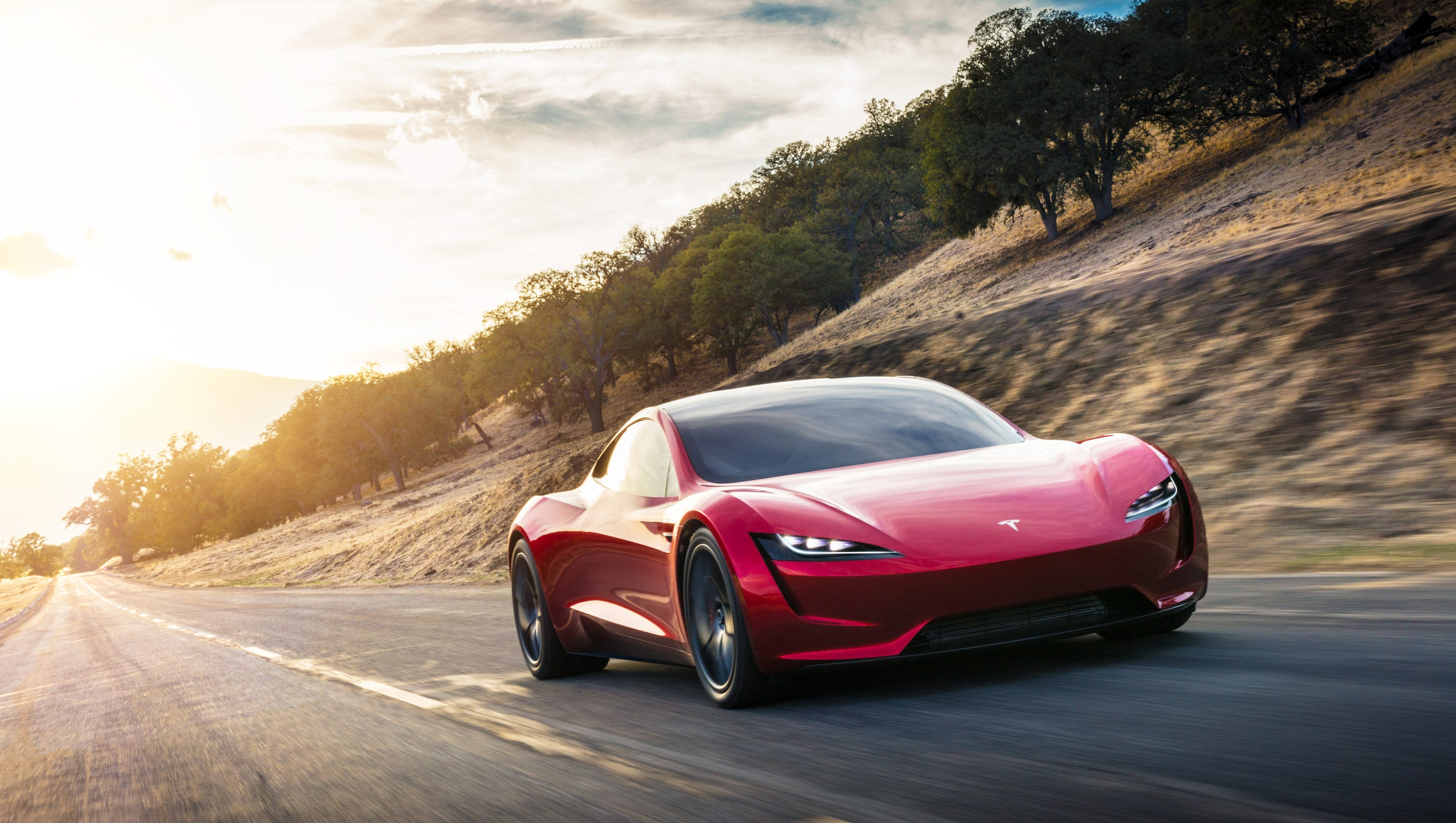 Tesla flying car? Elon Musk teases 'special upgrade' of Roadster supercar