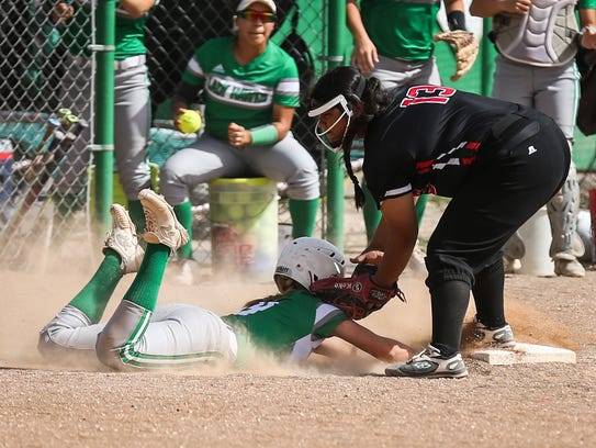 Wall's Kenzee Smith slides back to third as Ballinger