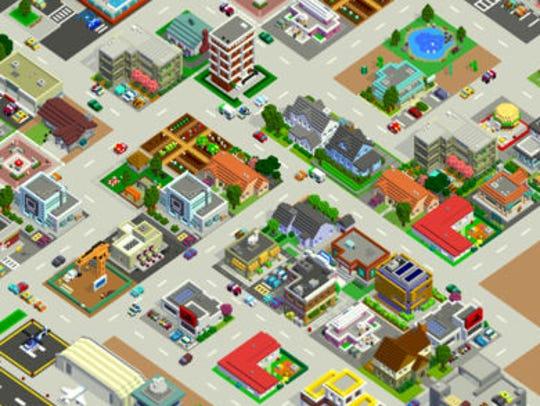 A screenshot from 'Bit City.'