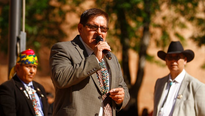 Navajo Nation Council Speaker LoRenzo Bates says a decline in coal production led to a decrease in the tribe's proposed fiscal year 2018 budget that was just approved.