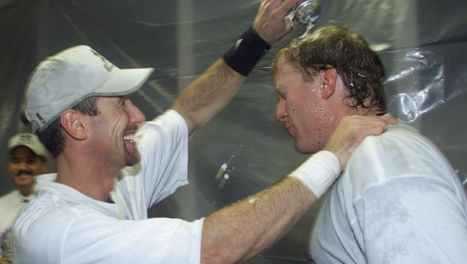 Luis Gonzalez and Curt Schilling were core members of the Diamondbacks team that won a World Series in just the fourth year of the franchise's existence.