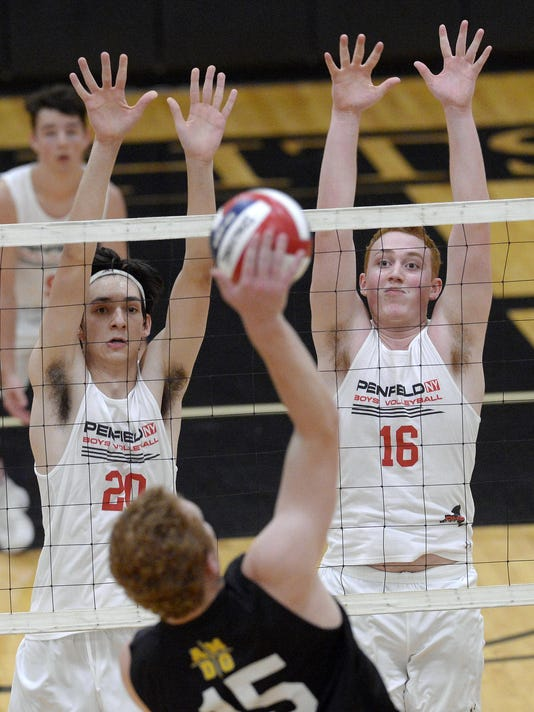 ROC 092017 Penfield McQuaid Volleyball A