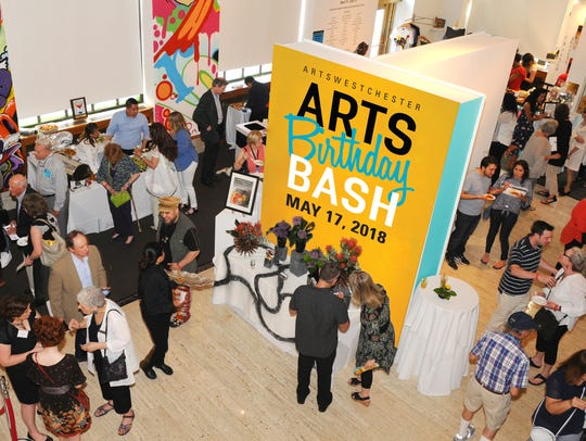 Enjoy great food, fun and contemporary art during ArtsWestchester's
