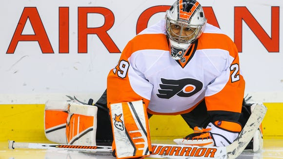 Ray Emery joined the Flyers on a tryout basis Tuesday.