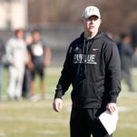 Purdue football coach Jeff Brohm recovering from offseason foot surgery