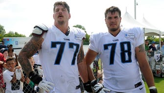 Titans Pro Bowl left tackle Taylor Lewan and All-Pro right tackle Jack Conklin are among the top pair of bookends in the NFL.