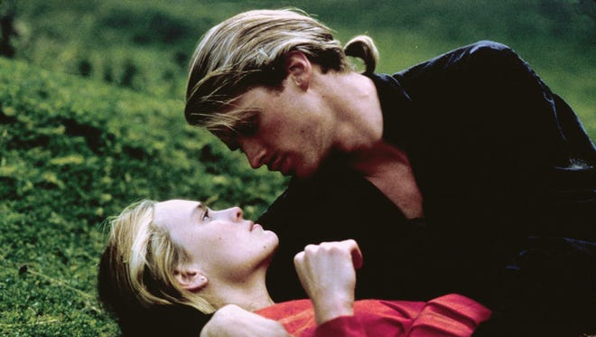 Robin Wright, left, and Cary Elwes in a scene from 'The Princess Bride.'