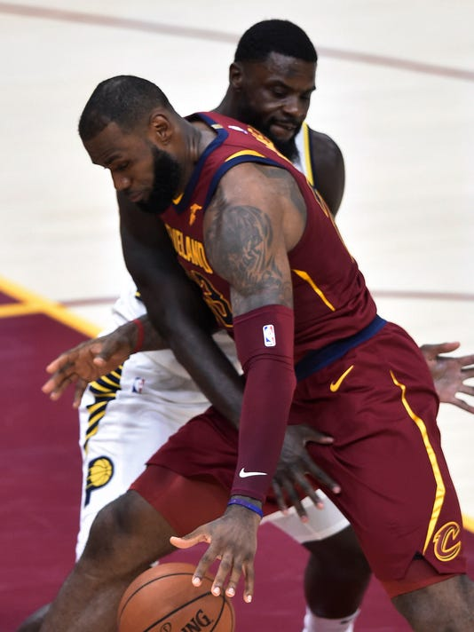 NBA: Indiana Pacers at Cleveland Cavaliers