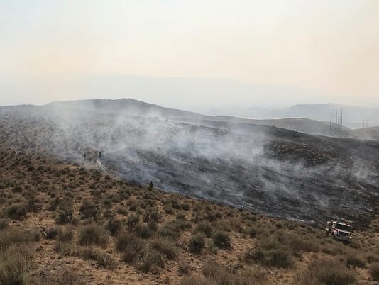 Fire near Reno, Nev.