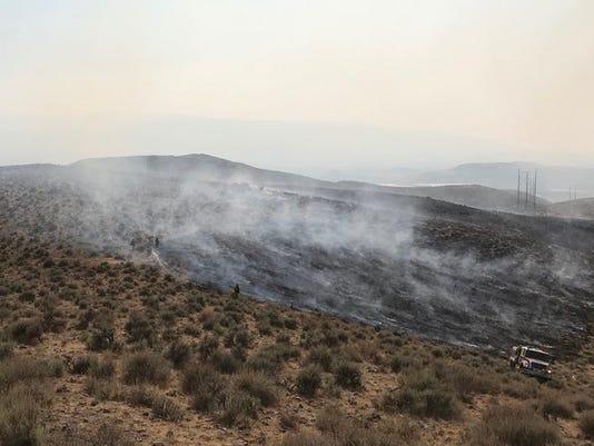 Fire near Reno, Nev.