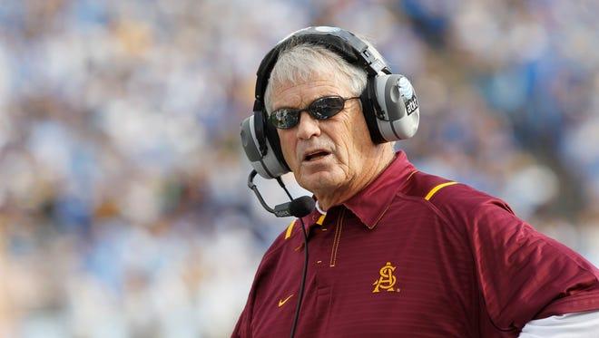 Former Arizona State head coach Dennis Erickson.
