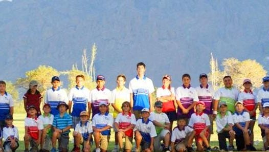 The Rio Mimbres Junior Golf league celebrated a banner season at the Rio Mimbres Golf Course in Deming. The league drew 32 players for the summer season and played in four matches at Las Cruces and in Deming.
