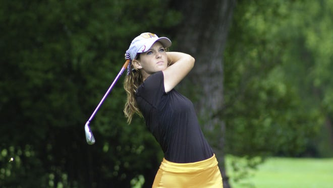 Samantha Hatter won her third straight Greater Lafayette Women?s Golf Association championship with a combined score of 148.