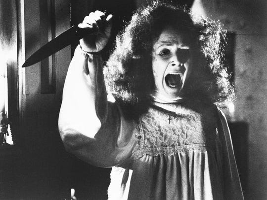 "Mrs. White in ""Carrie"" won't win any mother of the"