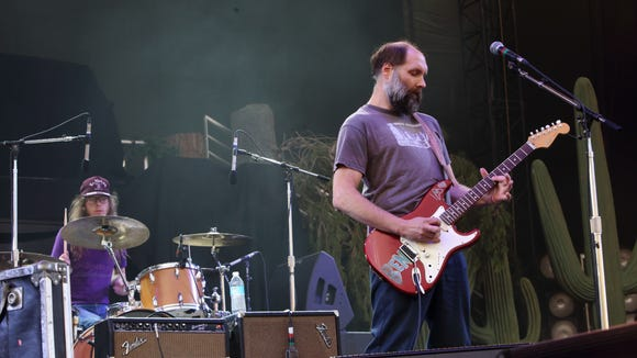 Built to Spill performs at The Sasquatch! Music Festival last year. The band returns to Delaware Friday night.