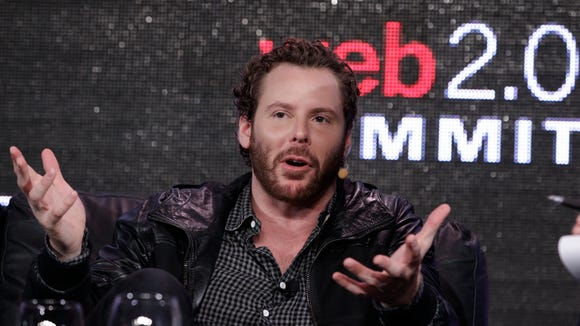 Sean Parker, entrepreneur and co-founder of Napster