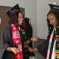 Almost 1,200 students received degrees during Austin Peay's eighty-seventh commencement year ceremonies at the Dunn Center on Friday.