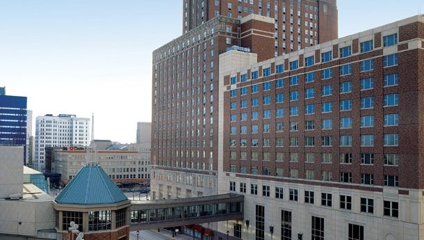 Milwaukee Hilton City Center hotel will be the headquarters for the 2020 Democratic National Convention.