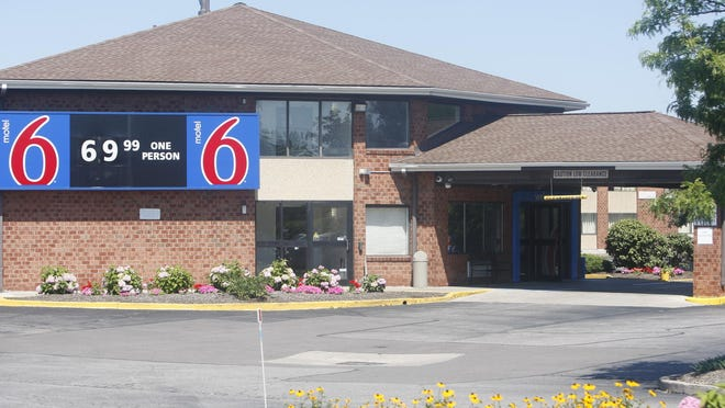 A Greece man was found dead at the Motel 6 in Gates on Friday morning.