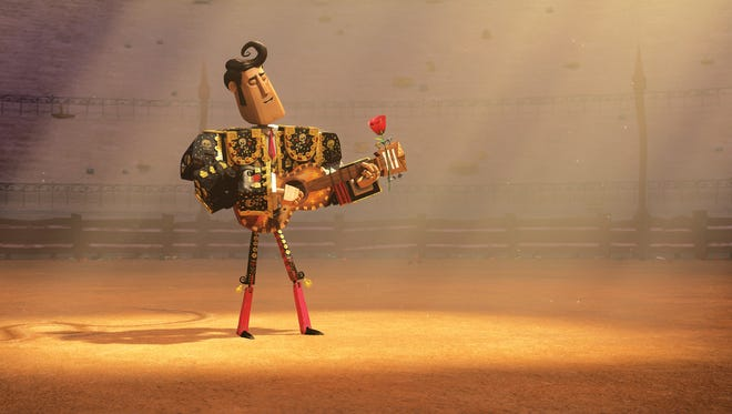 """Manolo (Diego Luna) wants to be a musician in """"The Book of Life."""""""