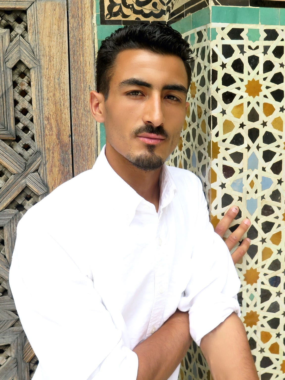 Taib Lotfi, co-founder of Soukie Modern, was born and raised in the Adar village in Morocco.