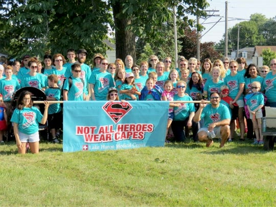 Lake Huron Medical Center supports the community outside