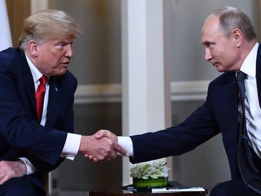 Russian President Vladimir Putin and U.S. President