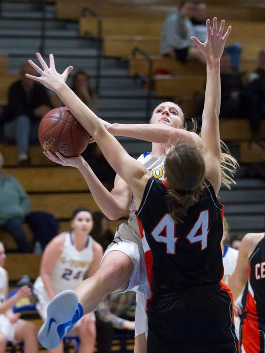 Girls Basketball: Cedarburg at Germantown