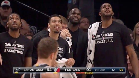 4 times Kawhi Leonard almost smiled after Jonathon Simmons' death-defying dunk