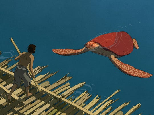 """A scene from """"The Red Turtle,"""" a co-production from Studio Ghibli, Wild Bunch, Why Not Productions, Arte France Cinéma and CN4 Productions."""