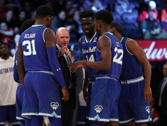 NCAA Basketball: Seton Hall at St. John