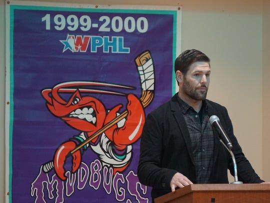 Former Nashville Predators star Mike Fisher spoke to