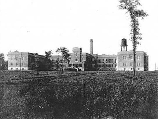The old Norwood County Asylum.