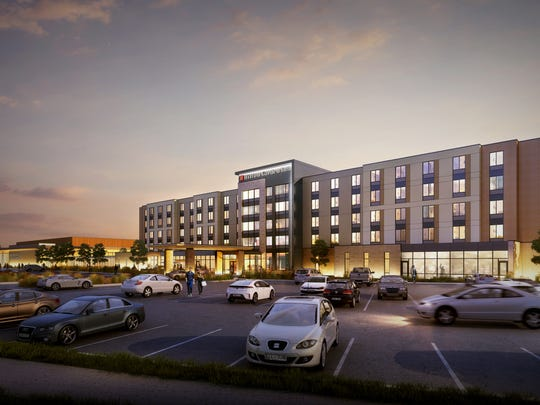 New renderings as shown in the picture above of the proposed Brookfield Conference Center.