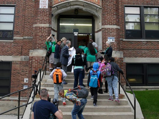 Black students struggle most in Wisconsin to match their white counterparts in the classroom according to new results of a national test known as the Nation's Report Card.