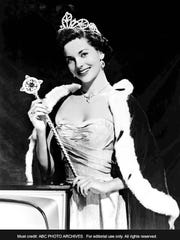 "On Sept. 11, 1954, ABC-TV cameras captured the crowning of Lee Ann Meriwether in the inaugural broadcast of ""Miss America"" at Convention Hall in Atlantic City, N.J."