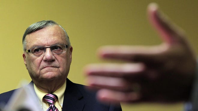 Maricopa County Sheriff Joe Arpaio, who led the way for police across the country to take up immigration enforcement, is speaking at an Oregon Republican Party rally at the Capitol steps Saturday.