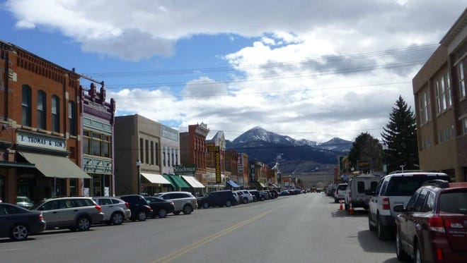 Livingston Peak is the end cap to the town's historic downtown.