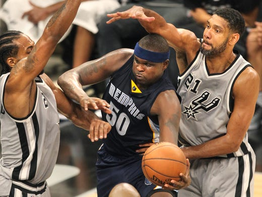 April 17, 2016 -   Memphis Grizzlies Zach Randolph