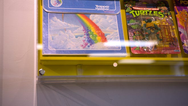 A Trapper Keeper at Totally 80's Pizza in Fort Collins Monday, Sept. 22, 2014.