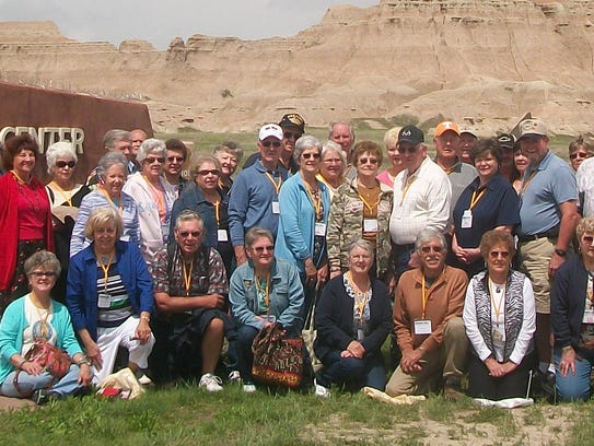 A group of 48 from the Stewart County Senior Citizen