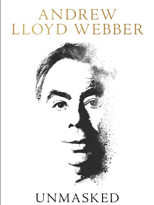 Weekend picks for book lovers, including Andrew Lloyd Webber's 'Unmasked'