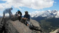 Twin Sisters, in Rocky Mountain National Park, has 2,328 feet of elevation gain.
