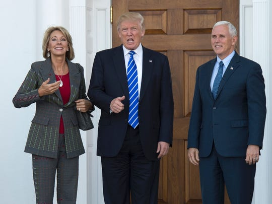US President-elect Doanld Trump and Vice President-elect